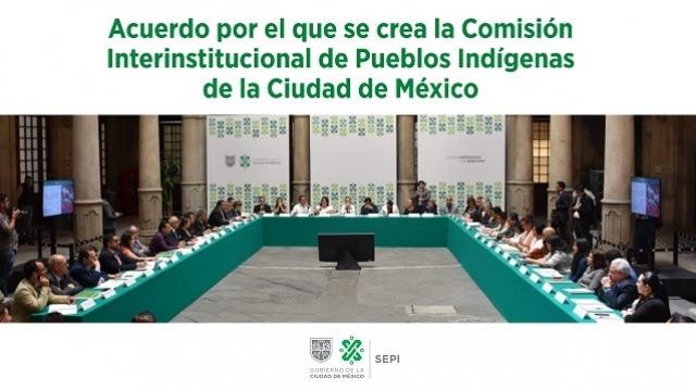 Comisión Interinstitucional de Pueblos Indígenas de la Ciudad de México