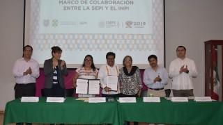 La SEPI y el INPI firman convenio de colaboración en el Día Internacional de la Mujer Indígena